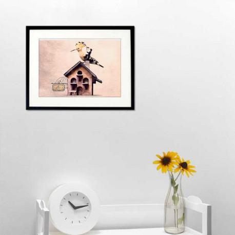 The hoopoe hairdresser - Fine Art photography - Original Art photography - Tiny Trades series