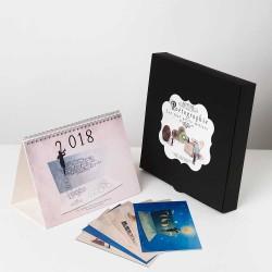 Coffret calendrier 2018 cadeau original, cadeau pour lui