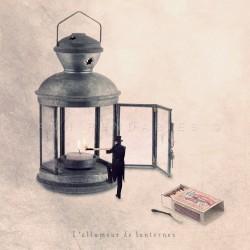 L'allumeur de lanternes - Photographie d'art - Photographie d'art couleur - Les Tout Petits Métiers