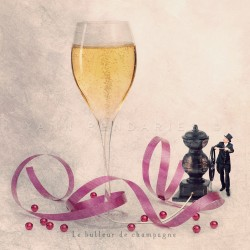 The Champagne bubbler - Fine Art photography - Original Art photography - Tiny Trades series