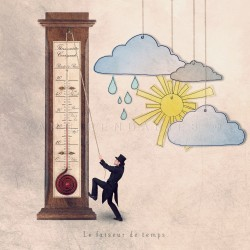 The weather maker - Fine Art photography - Original Art photography - Tiny Trades series