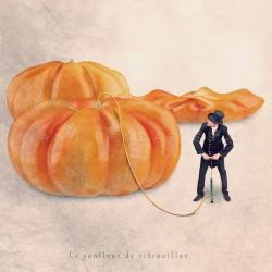 Le gonfleur de citrouille - Photographie d'art - Photographie d'art couleur - Les Tout Petits Métiers