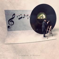 Le graveur de disques - Photographie d'art - Photographie d'art couleur - Les Tout Petits Métiers