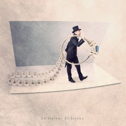 The Jewelry deliverer - Fine Art photography - Original Art photography - Tiny Trades series