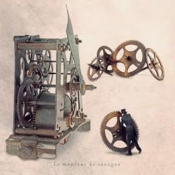 Le monteur de rouages - Photographie d'art - Photographie d'art couleur - Les Tout Petits Métiers