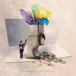 Le moulineur de confettis - Photographie d'art - Photographie d'art couleur - Les Tout Petits Métiers