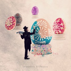 Le peintre de Pâques - Photographie d'art - Photographie d'art couleur - Les Tout Petits Métiers