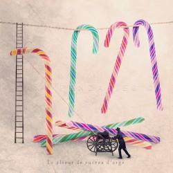 Le plieur de sucres d'orge - Photographie d'art - Photographie d'art couleur - Les Tout Petits Métiers