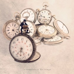 The time rewinder - Fine Art photography - Original Art photography - Tiny Trades series