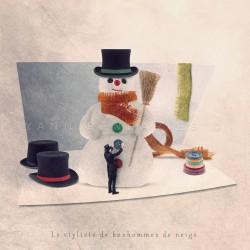 Le styliste de bonhommes de neige - Photographie d'art - Photographie d'art couleur - Les Tout Petits Métiers