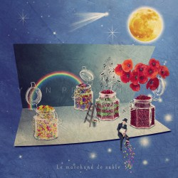 Le marchand de sable - Photographie d'art - Photographie d'art couleur - Les Tout Petits Métiers