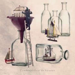 The boat bottler - Fine Art photography - Original Art photography - Tiny Trades series