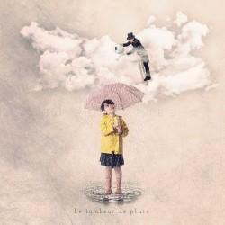 cadeau pour femme avec parapluie, Le tombeur de pluie , Photographie d'art couleur, Les Tout Petits Métiers