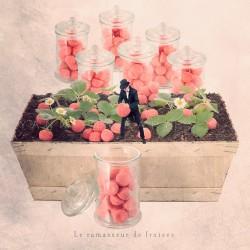 Le ramasseur de fraises Déco murale made in France créateur français - Photographie d'art - Photographie d'art couleur - Les Tou