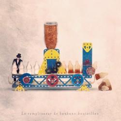 Déco originale made in france, Le remplisseur de bonbons-bouteilles - Photographie d'art - Photographie d'art couleur - Les Tout