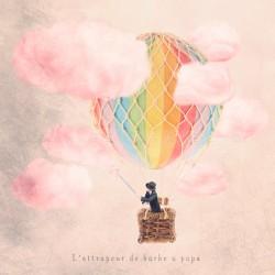 The cotton-candy catcher - Fine Art photography - Original Art photography - Tiny Trades series