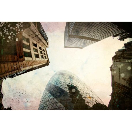 Day 14 London The city, Fine Art color print