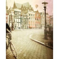 Jour 20 Amsterdam Le vélo - Photographie d'art - Photographie d'art couleur