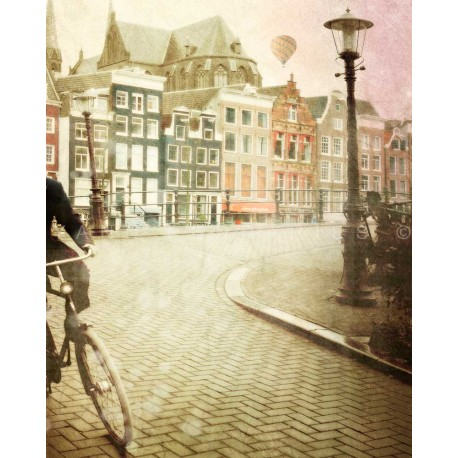 Day 20 Amsterdam The bike, Fine Art color print