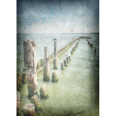 Day 30 The seaside, Fine Art color print