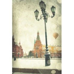 Day 37 Moscow Kremlin - Fine Art photography - Original Art photography - 80 days in a hot balloon