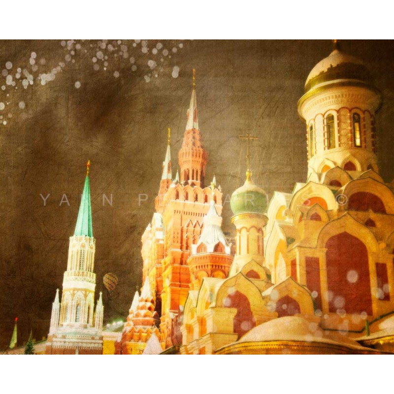 Day 38 Moscow The Church Fine Art Color Print