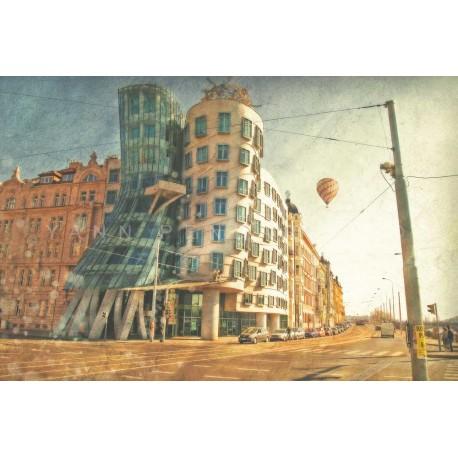 photo de Prague, La maison qui danse, photographie artistique