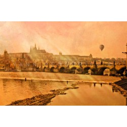 Jour 45 Prague Lumière divine - Photographie d'art - Photographie d'art couleur