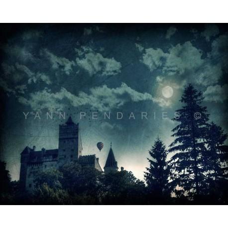 photo de château de Dracula, photographie artistique