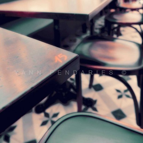 Coffee Break N°2, Fine Art color print urban landscape