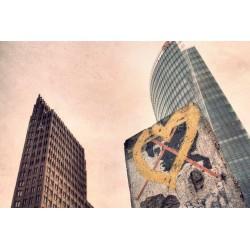 Berlin in love, Fine Art color print urban landscape