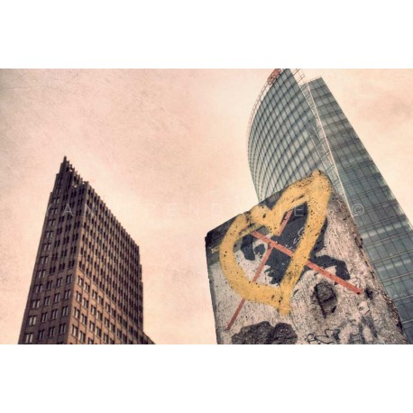 photo de Berlin, in love, photographie artistique de paysage urbain