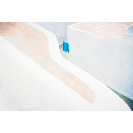 photo de santorin, Color of grece N°2, photographie artistique de paysage urbain