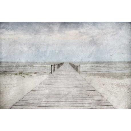 photo de ponton, photographie artistique de paysage