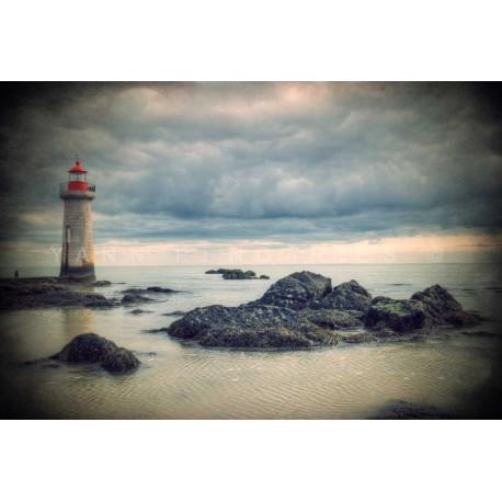 photo de phare, Après la tempête, photographie artistique de paysage