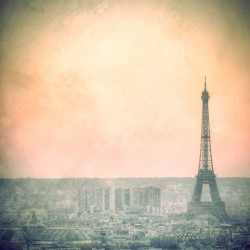 Dawn on the Eiffel Tower - Fine Art photography - Original Art photography