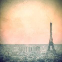 L'aube sur Paris - Photographie d'art - Photographie artistiques