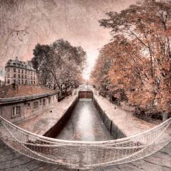 Le canal Saint Martin - Photographie d'art - Photographie artistiques