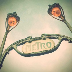 Metro Paris - Fine Art photography - Original Art photography