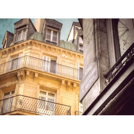 Paris St Michel street, Fine Art Paris print
