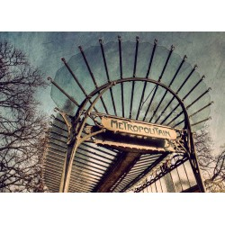 Metro Paris N°5 - Fine Art photography - Original Art photography