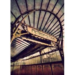 Metro Paris N°2 - Photographie d'art - Photographie artistiques