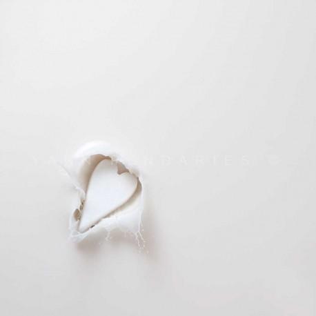 photo de coeur en sucre, éclabousse N°1, photographie artistique nature morte