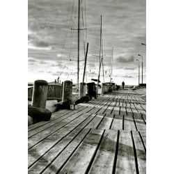 North Poland Baltic sea Tolkmicko, Fine Art black-white photography print