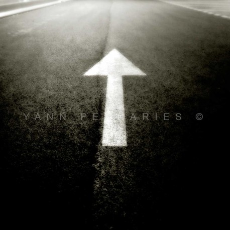 Direction, Fine Art black-white photography print
