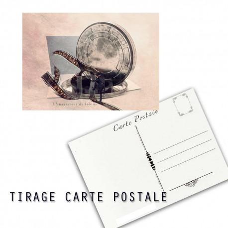 Carte postale humoristique cinéma