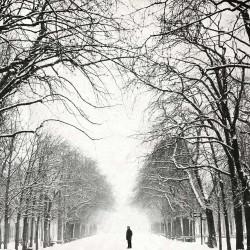 Le gardien, photographie artistique noir et blanc