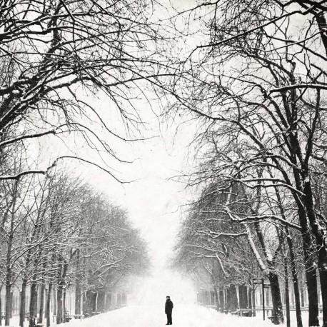photo de paris en noir et blanc, Le gardien, photographie artistique noir et blanc