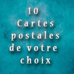 10 cartes postales de votre choix Les tout petits métiers