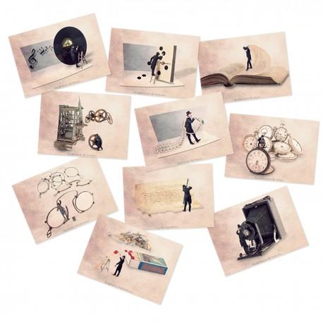 Carte postale humoristique, Carte postale humour, les tout petits métiers, cartes postales fun, cartes postale humoristiques, dé